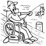Fishing On Wheelchair