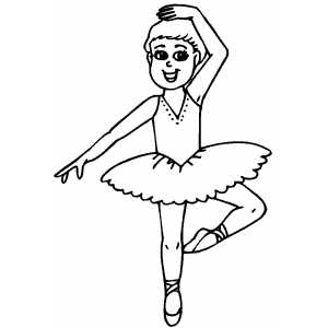 dancing girls coloring pages - photo#4