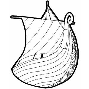 Galley Coloring Sheet