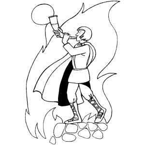 Norse Coloring Sheet