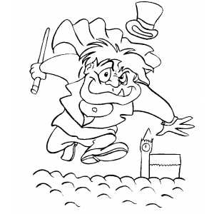 Mr Hyde Coloring Sheet