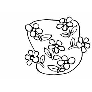 Flowers19 Coloring Sheet