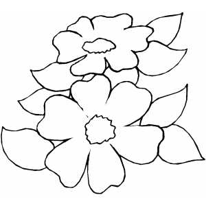 Flowers42 Coloring Sheet