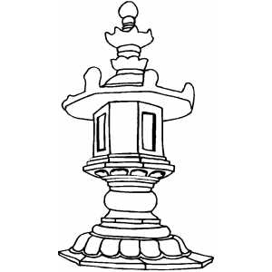 Monument Coloring Sheet