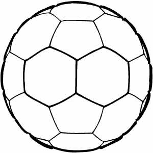 soccer ball coloring sheet. Black Bedroom Furniture Sets. Home Design Ideas